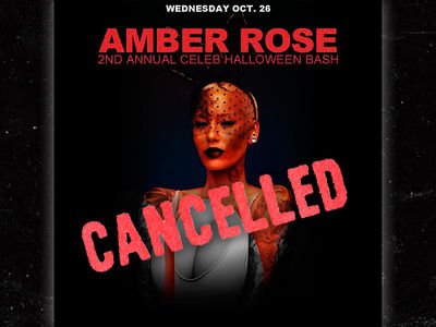 Amber Rose -- Cancels Halloween Bash ... I'm Too Pooped to Party (PHOTOS + VIDEO)