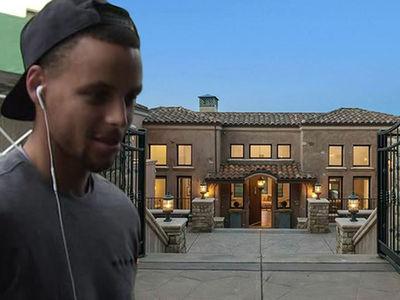 Steph Curry -- Lists Baller Mansion ... $3.7 Million! (PHOTO)