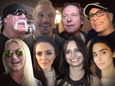 Hulk Hogan -- Daughter Forming Wrestling League ... With DDP's Daughter (VIDEO)