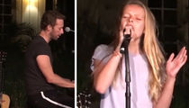 Chris Martin -- My Kids Need Some Shine ... They Can Sing! (VIDEO)