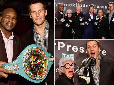 Tom Brady -- Rollin' With The Punches ... At Muhammad Ali Tribute Event (PHOTO GALLERY)