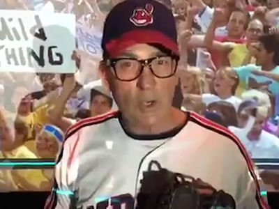 Charlie Sheen -- Goes Full 'Wild Thing' ... For Epic Indians Pump Up Vid
