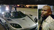 Floyd Mayweather -- Brings $12 MILLION Car Fleet ... To L.A. Hot Spot (VIDEO)