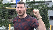 UFC's Michael Bisping -- I'll Beat GSP with One Arm ... But Bring On Nick Diaz! (VIDEO)