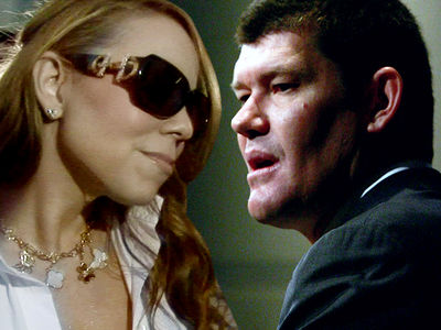 Mariah Carey -- James Packer Tells Team, 'F*** Off' ... I'm Getting Married!!!
