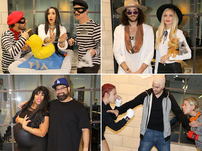 TMZ's Halloween Pics -- Johnny & Amber, Rob & Blac Chyna ... Kim & the Burglars (PHOTO GALLERY)