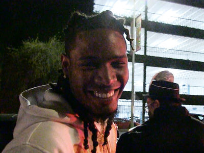 Fetty Wap -- Rockin' New $80k Fangs for Halloween (VIDEO)