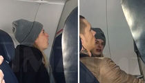 Ex-'Voice' Contestant Juliet Simms -- Hauled Off Plane for Fighting Husband (VIDEO)