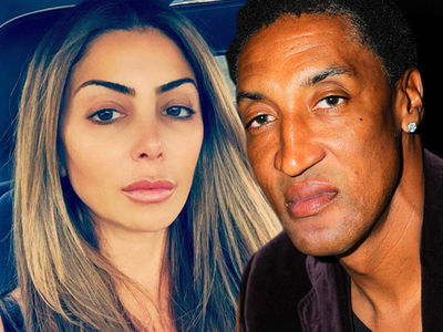 Scottie, Larsa Pippen -- Battle Royale Over Fortune & Prenup