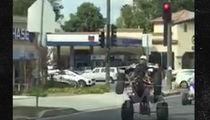 Chris Brown -- I'm Poppin' on My ATV ... Screw My Neighbors (VIDEO)