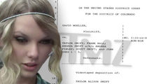 Taylor Swift Deposition -- Radio DJ 'Grabbed My Bare Ass, I Know It Happened!'