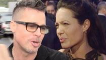 Brad Pitt -- I Want Joint Custody of Our Kids ... Divorce War Brewing