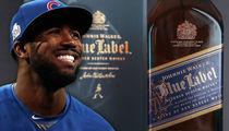 Cubs' Dexter Fowler -- CHEERS TO US ... Gets 108 Bottles of Scotch for Team