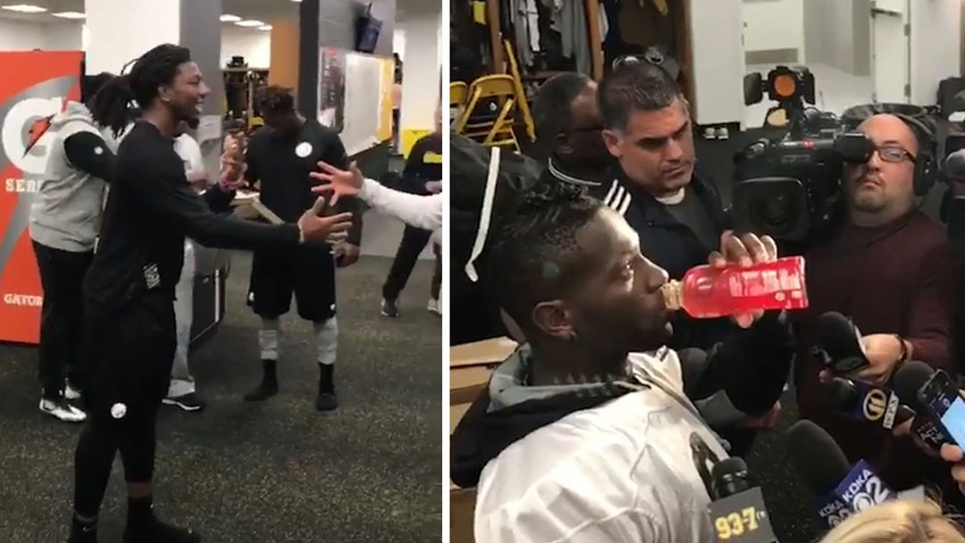 Pittsburgh Steelers Freeze Time With 'Mannequin Challenge'