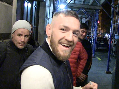 Conor McGregor -- I'll Talk Private Jets ... But Mum On Baby Rumors (VIDEO)