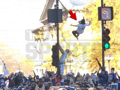 Chicago Cubs Fans Are INSANE ... Watch Trust Fall! (VIDEO)