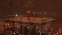Kanye West -- Cuts Concert Short ... I Got No F'ing Voice (VIDEO)