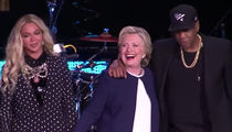 Beyonce, Jay Z -- Bring On Hillary Clinton with an Air Horn!!! (VIDEO)