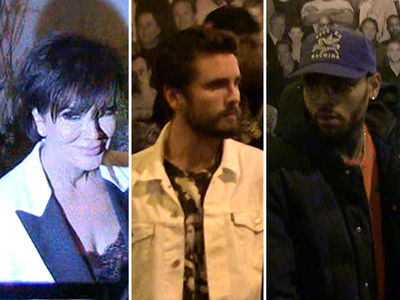 Kardashian Klan -- Spotty Turnout for Kris Jenner's Birthday (VIDEO)