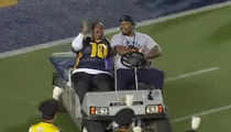 Marshawn Lynch -- Recreates Golf Cart Hijinks (Hilarious Video!!!)