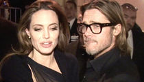 Angelina Jolie, Brad Pitt -- Story they Settled BS ... Custody War Still On