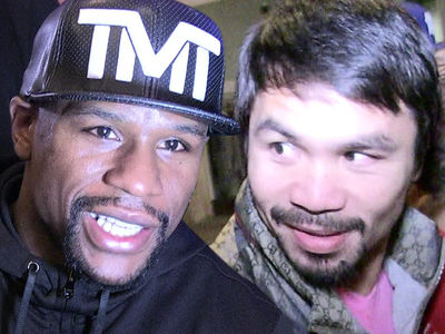 Mayweather vs. Pacquiao -- '75% Chance Rematch Happens' ... Says Bob Arum