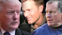 Donald Trump -- Tom Brady Has My Back ... Belichick Wrote Me Pump Up Letter (VIDEO)