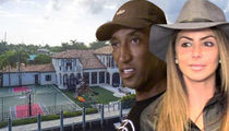 Scottie & Larsa Pippen -- Desperate to Unload Crib ... $600k Discount Anyone?!