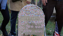 Susan B. Anthony -- 'I Voted' From The Grave 144 Years Later