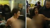 Donald Trump -- Topless Protesters Say 'Grab Your Balls' (VIDEO)