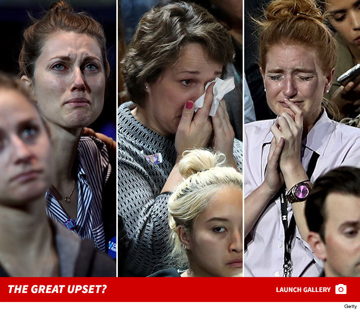 1108 hillary clinton supporters upset getty 1b 2 as the tide turns hillary clinton supporters are so, so sad tmz com,Hillary Supporters Crying Meme