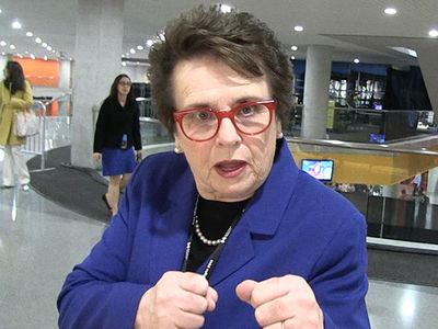 Billie Jean King -- DON'T QUIT ON HILLARY ... It Ain't Over Yet! (VIDEO)