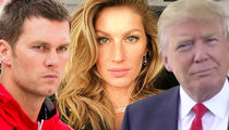 Tom Brady -- Gisele Won't Let Me Talk Politics Anymore (VIDEO)