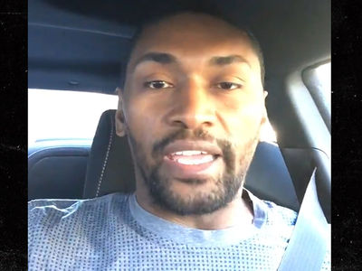 Metta World Peace -- STOP CRYING OVER HILLARY ... 'Everything Will Be Alright' (VIDEO)