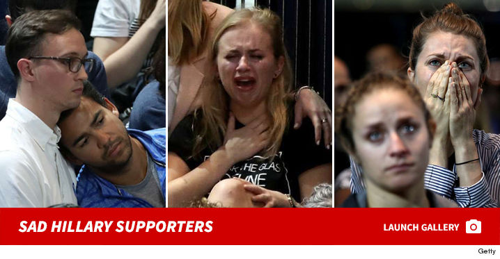 sad hillary supporters footer 3 miley cyrus breaks down in tears over hillary's loss tmz com,Hillary Supporters Crying Meme