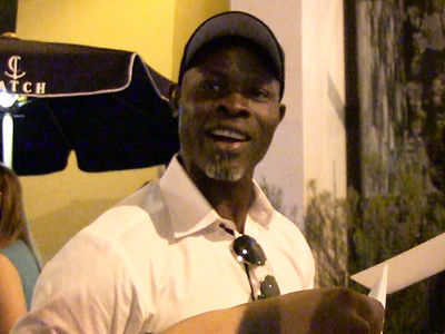 Djimon Hounsou -- Nice Having Black President ... While It Lasted (VIDEO)