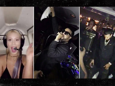 French Montana -- Choppers, Yachts and Iggy's Ass ... Happy Birthday to Me! (VIDEO)