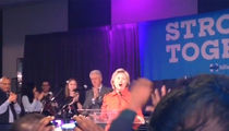 Hillary Clinton -- One Last Hurrah (VIDEO)