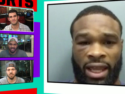 UFC's Tyron Woodley -- Conor McGregor Knows I'll Beat His Ass ... 'He Doesn't Want Real Beef' (VIDEO)