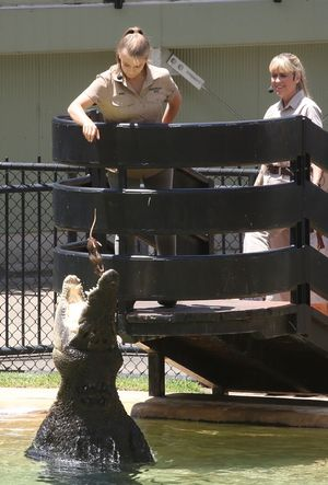 Steve Irwin Day Celebrated with Family, Crocs and Male Dancers