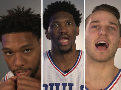 Philadelphia 76ers -- Hilariously Butcher 'Rocky' Quotes ... 'Yooo Adrian!!!!!' (VIDEO)