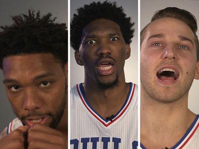 Philadelphia 76ers -- Hilariously Butcher 'Rocky' Quotes ... 'Yooo Adrian!!!!!' (VIDEO)