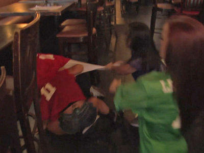 'Little Women: Dallas' -- Our Bar Fights Are Bigger In Texas (VIDEO)