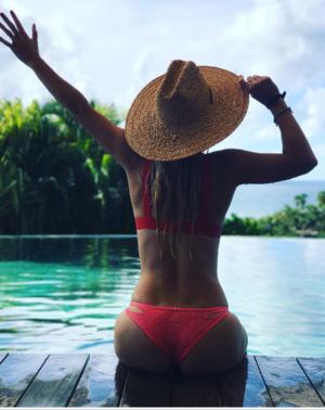 Caroline Wozniacki on Necker Island