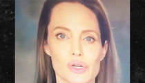 Angelina Jolie -- Speaks on 'Crimes Against Children' -- Question ... Is it a Brad Attack? (VIDEO)