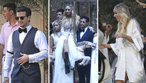 Mark Ballas, BC Jean -- Malibu Wedding ... Cake By the Ocean (PHOTO GALLERY)