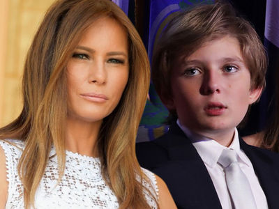 Melania Trump -- Staying in NYC for Now ... To Be with Barron