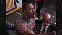 Dwight Howard -- CHALLENGES LAKERS FAN TO FIGHT ... Call Me a Bitch to My Face (VIDEO)