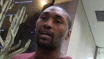 Metta World Peace -- My Advice to Kanye ... CHILLAX, BRO! (VIDEO)