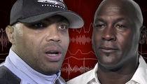 Charles Barkley -- Michael Jordan Beef Still Fresh ... 'Not Where We Used To Be' (AUDIO)